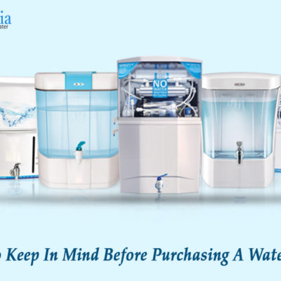 Things To Keep In Mind Before Purchasing A Water Purifier