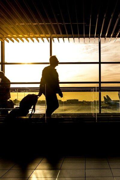 Airport, Terminal, Man, Travel, Travelers, Passengers